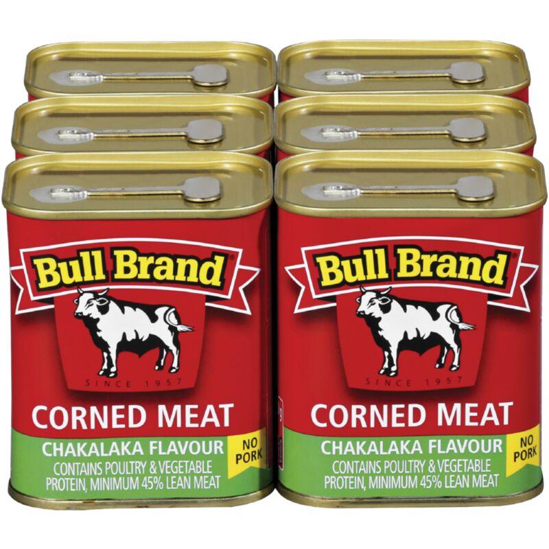 BULL BRAND CORNED MEAT CHAKALAKA – 300G