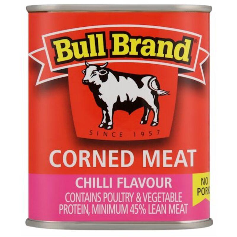 BULL BRAND CORNED MEAT CHILLI – 300G