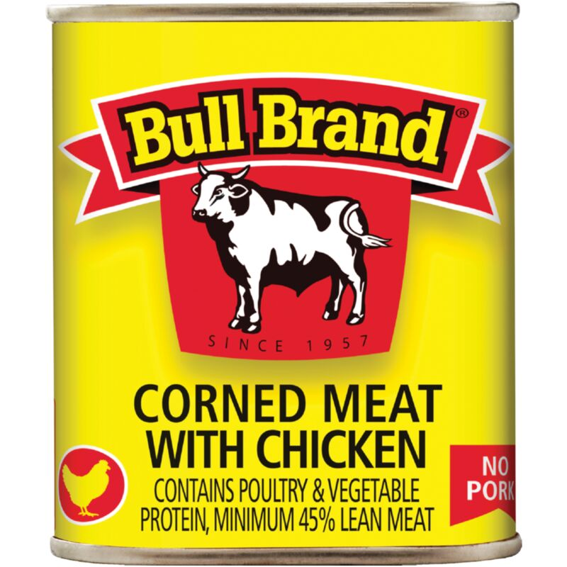 BULL BRAND CORNED MEAT WITH CHICKEN – 300G