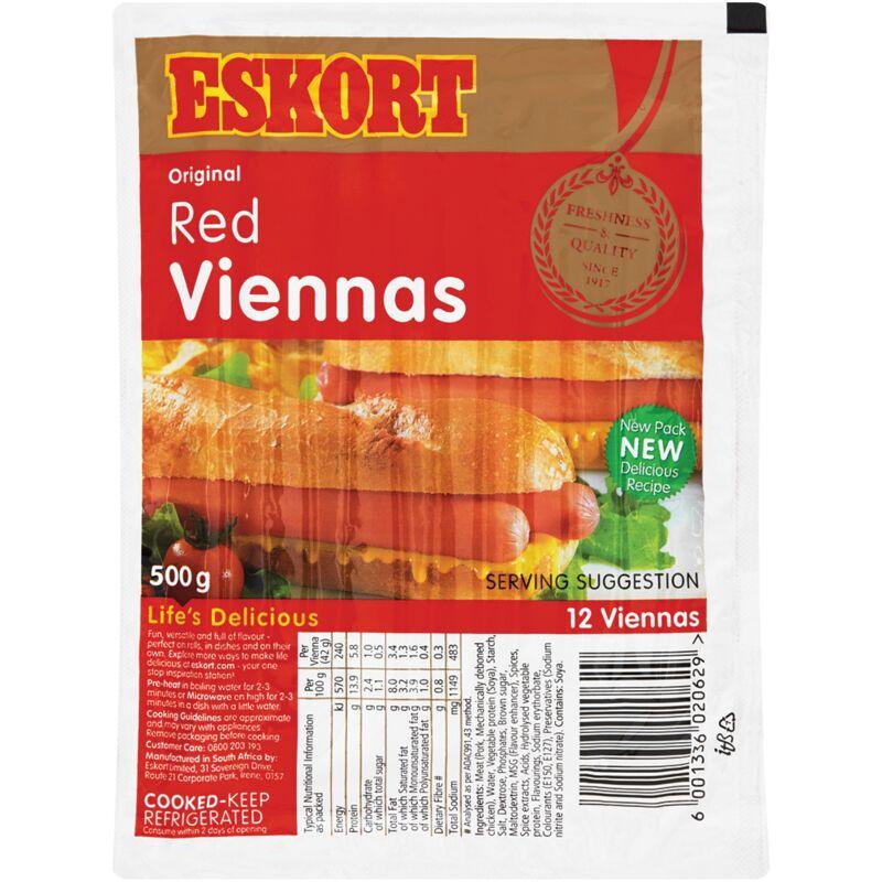 ESKORT VIENNAS RED – 500G