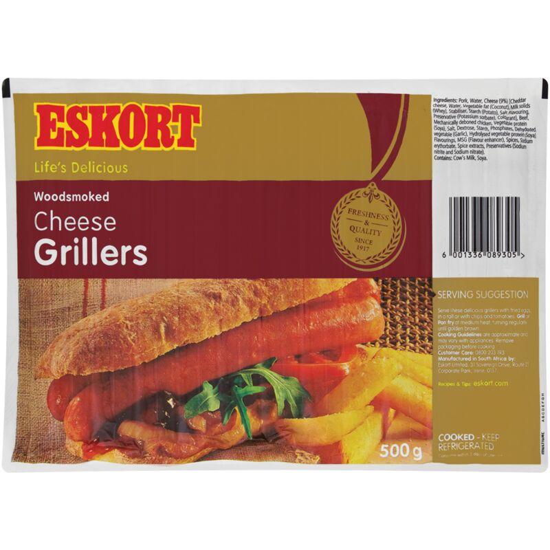 ESKORT SAUSAGES CHEESE GRILLER – 500G