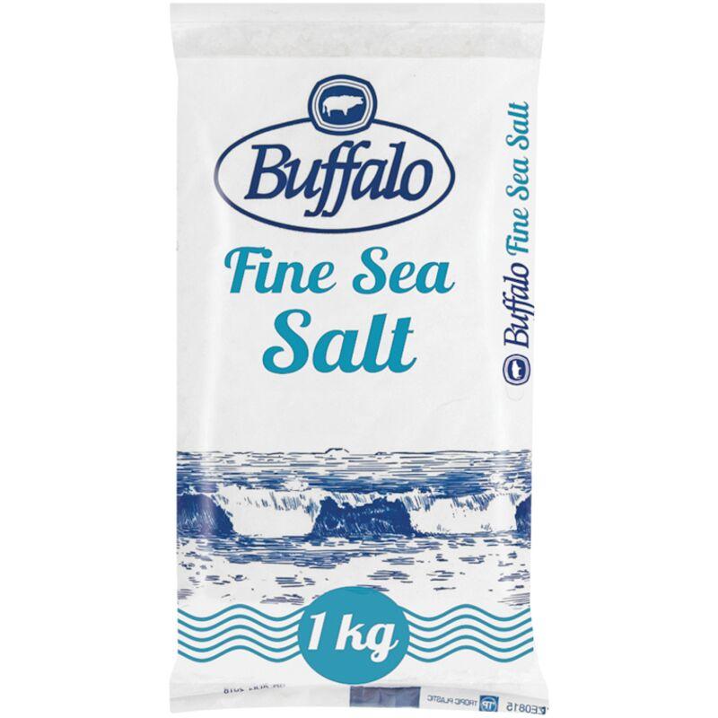 BUFFALO TABLE SALT IODATED POLY – 1KG