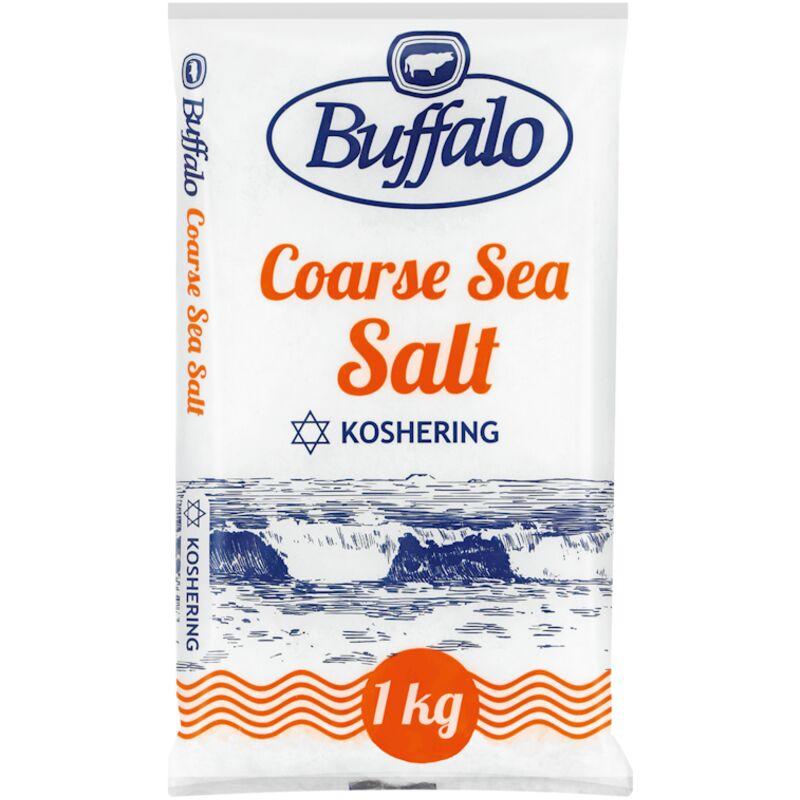BUFFALO IODATED SALT KOSHER – 1KG