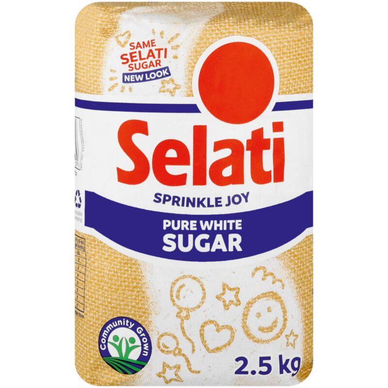 SELATI WHITE SUGAR – 2.5KG