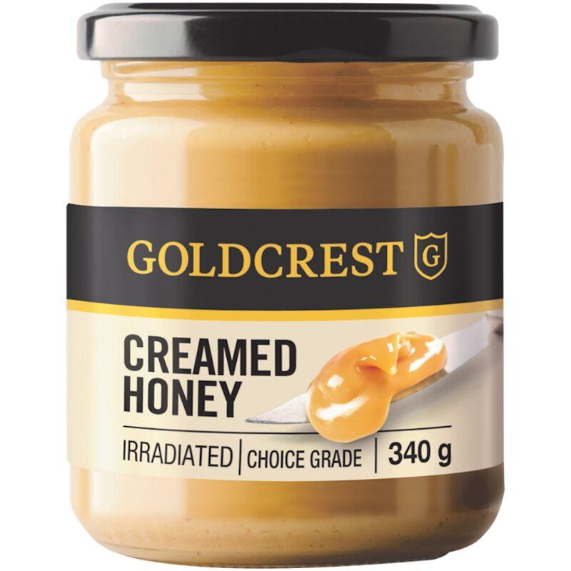 GOLDCREST HONEY CREAMED – 340G