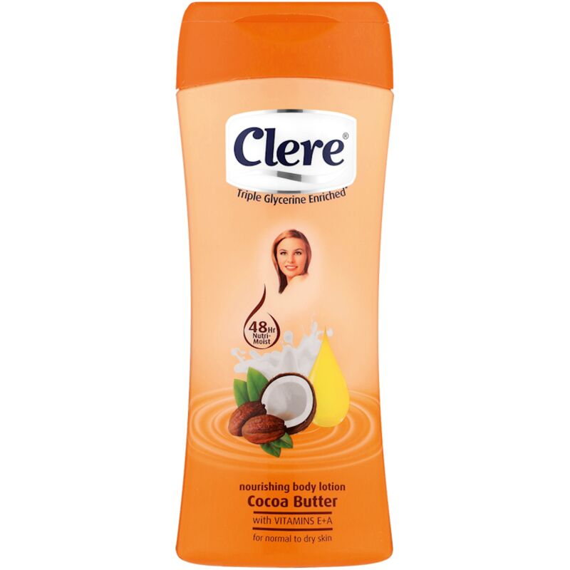 CLERE LOTION COCOA BUTTER – 400ML