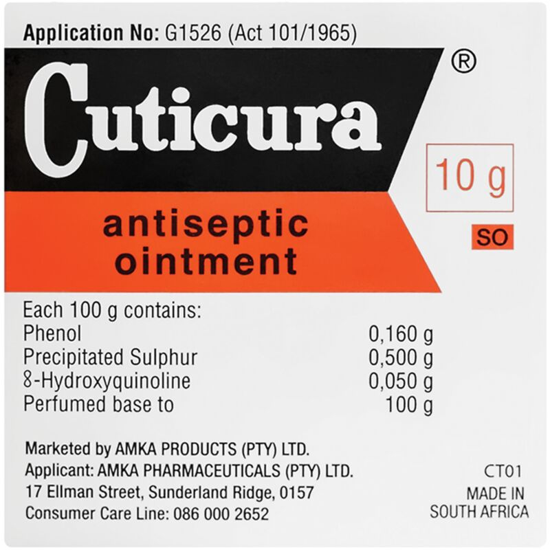CUTICURA ANTISEPTIC OINTMENT – 20G