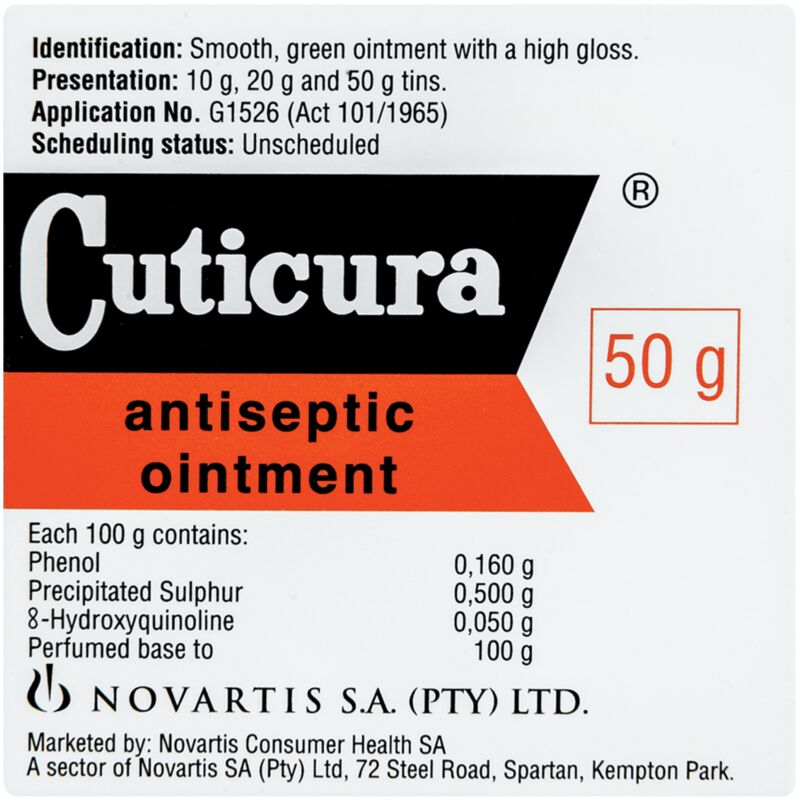 CUTICURA ANTISEPTIC OINTMENT – 50G