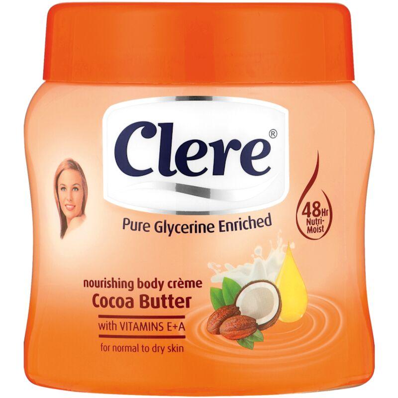 CLERE CREAM COCOA BUTTER – 500ML