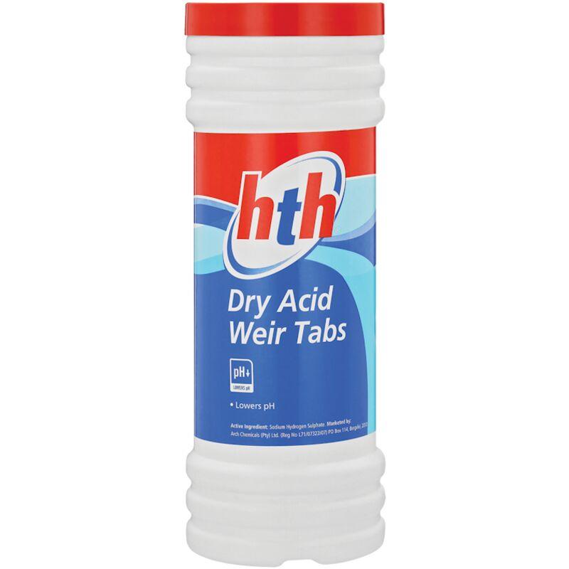 HTH DRY ACID WEIR TABS – 3KG