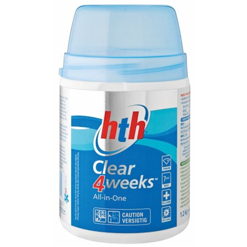 HTH CLEAR 4 WEEKS ALL IN 1 POOL CARE – 500G