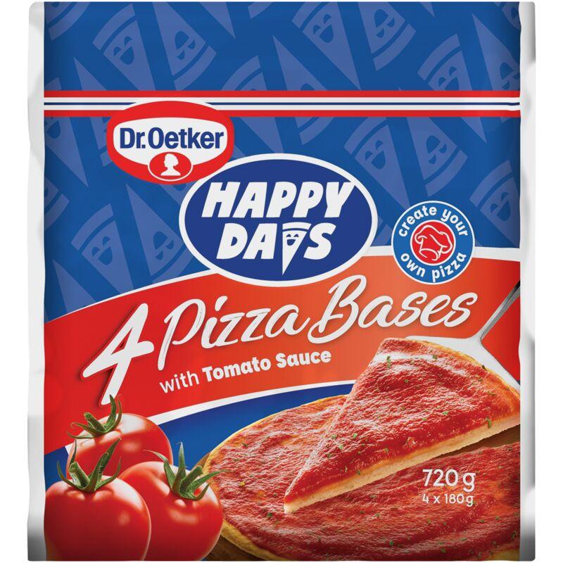 DR OETKER HAPPY DAYS PIZZA BASES 4S – 180G