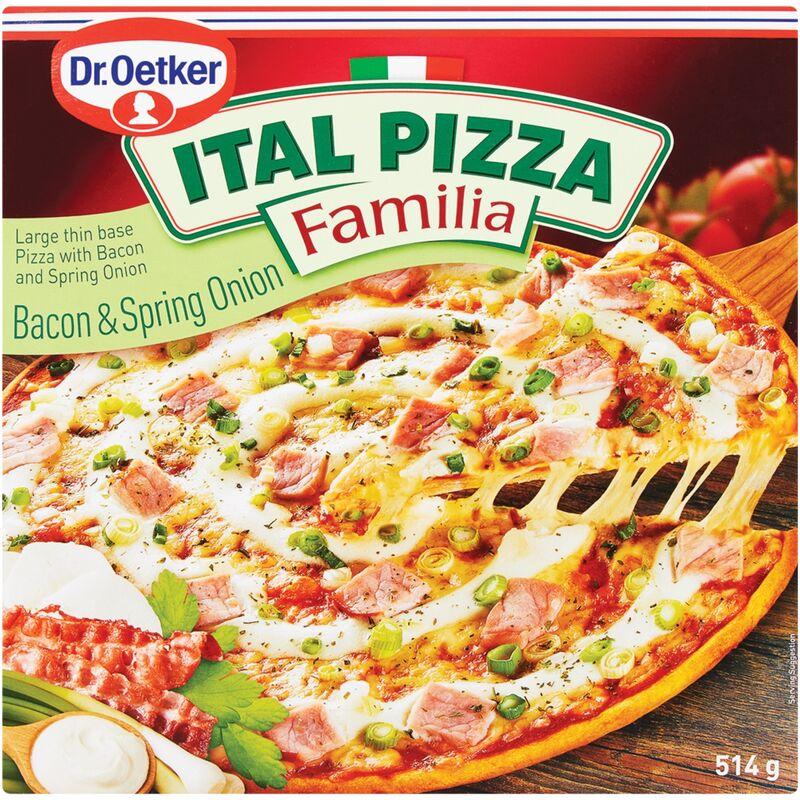DR OETKER ITAL PIZZA FAMILIA BACON & SPRING ONION – 514G