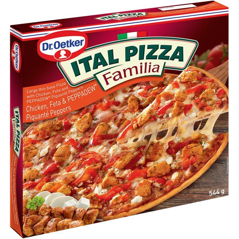 DR OETKER ITAL PIZZA FAMILIA CHICKEN FETA & PEPPERDEW – 544G