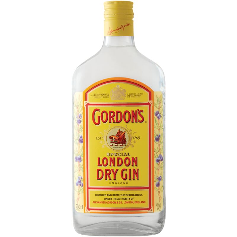 GORDONS GIN – 750ML