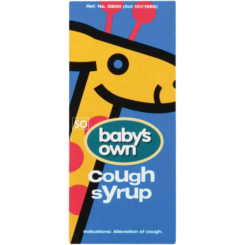BABYS OWN COUGH SYRUP – 50ML