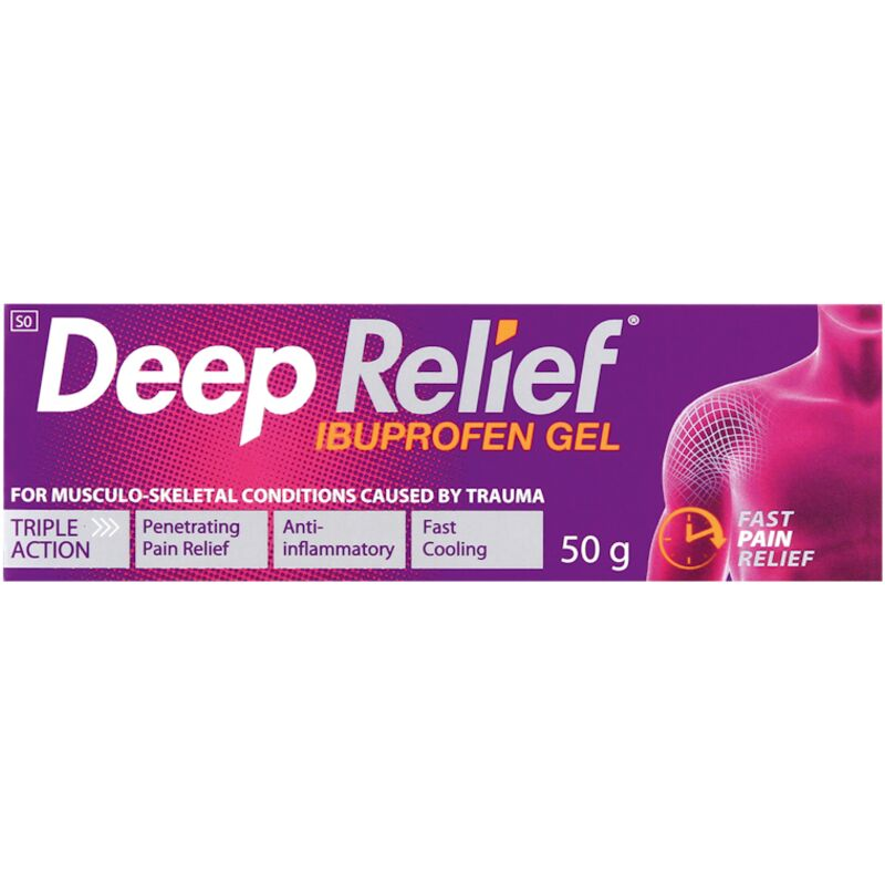 DEEP RELIEF 50MG/1G JEL 50 – 50G