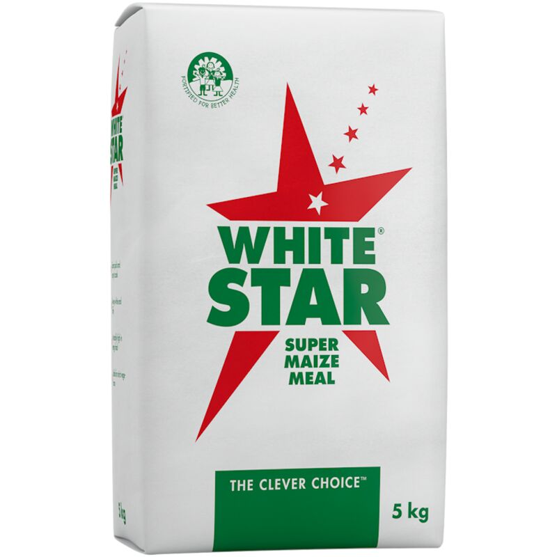 WHITE STAR SUPER MAIZE MEAL PA – 5KG