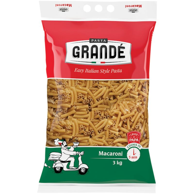 PASTA GRANDE MACARONI – 3KG