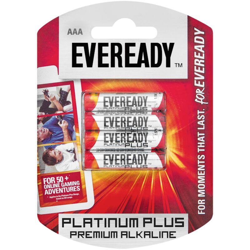 EVEREADY PLATINUM ALKALINE AAA LR03 BP4 – 4S