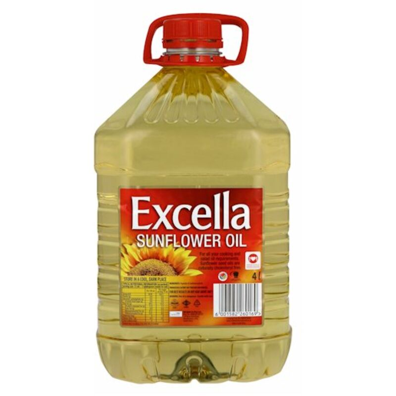 EXCELLA SUNFLOWER OIL – 4L