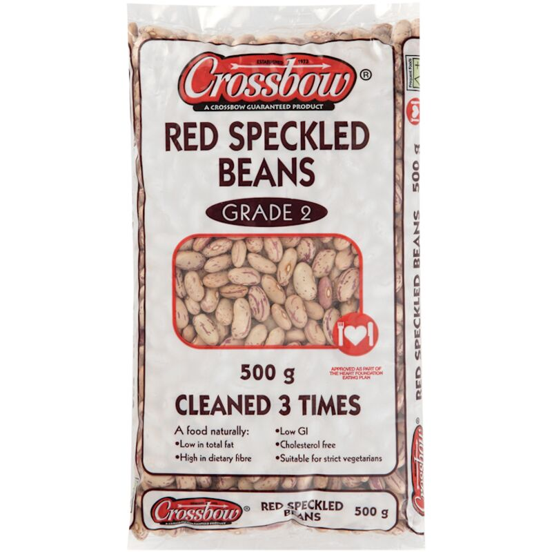 CROSSBOW RED SPECKLED BEANS SPECIAL – 500G