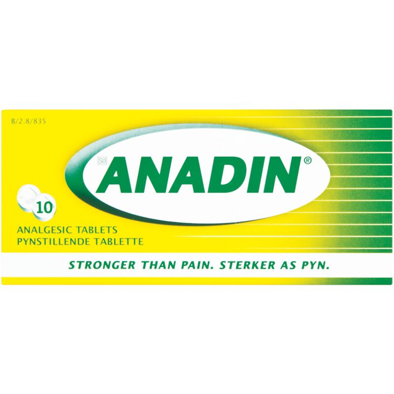 ANADIN HEADACHE TABLETS – 10S