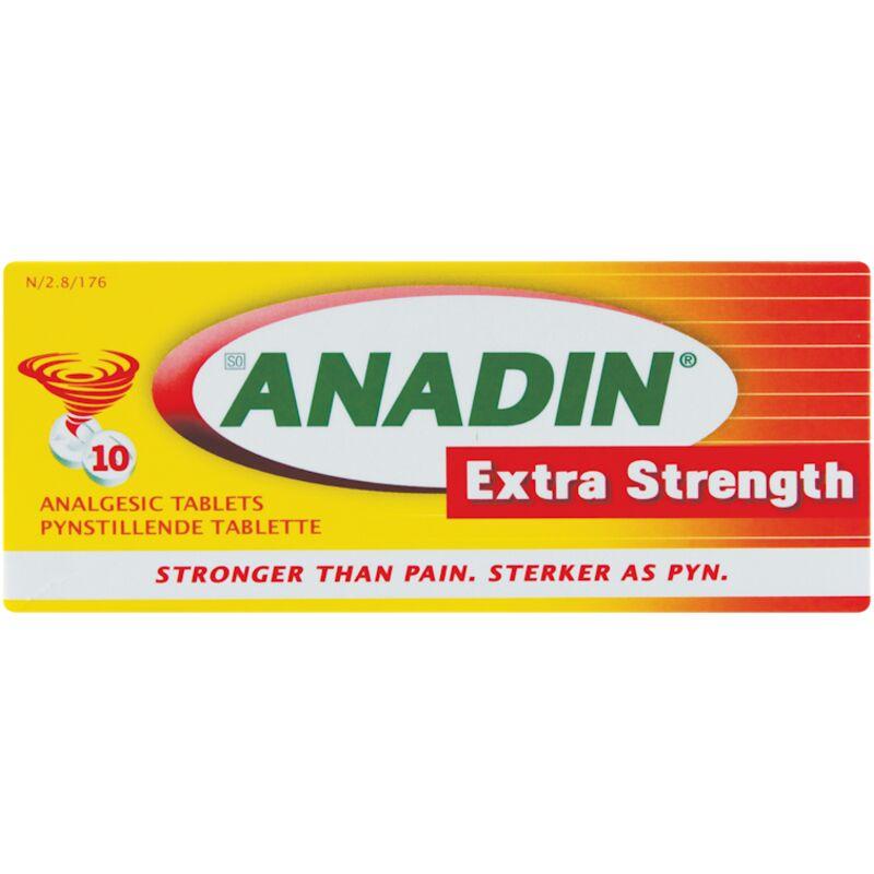 ANADIN HEADACHE EXTRA STRENGTH TABLETS – 10S