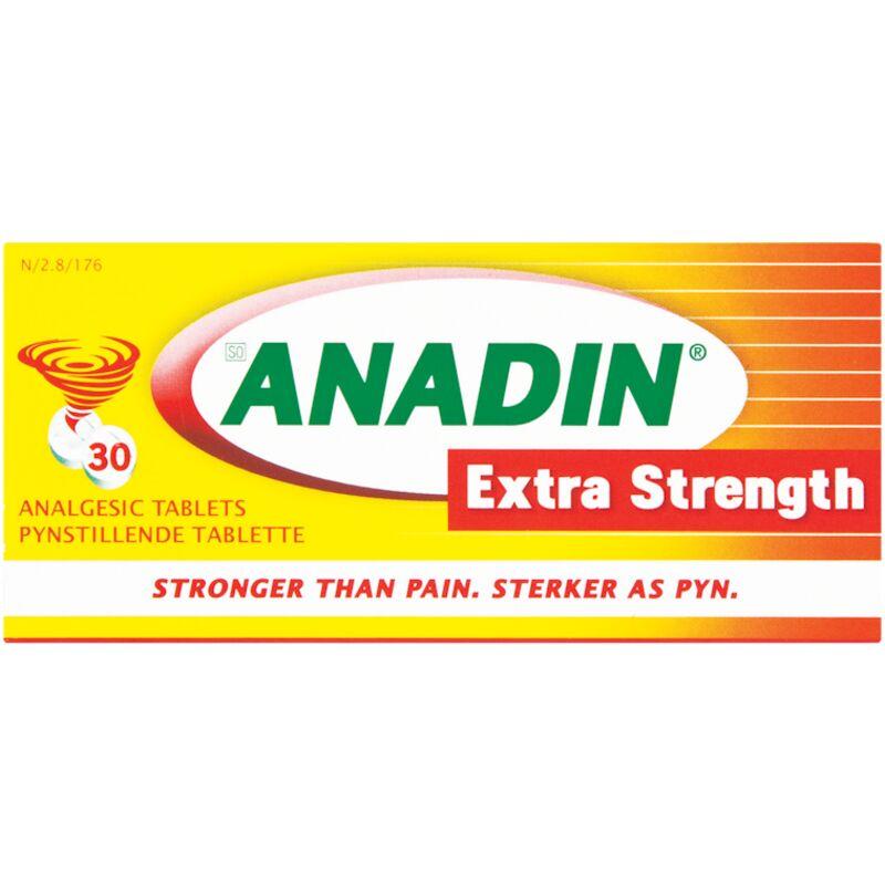 ANADIN HEADACHE EXTRA STRENGTH TABLETS – 30S