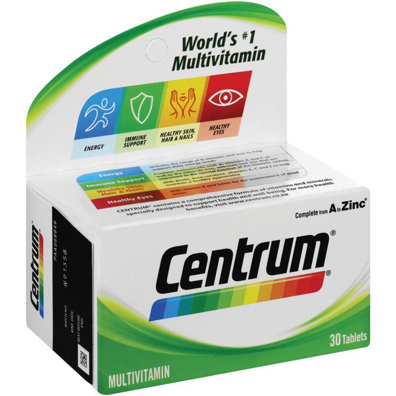 CENTRUM ADULT MULTIVITAMIN TABLETS – 30S