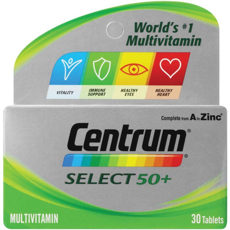 CENTRUM SELECT MULTIVITAMIN – 30S
