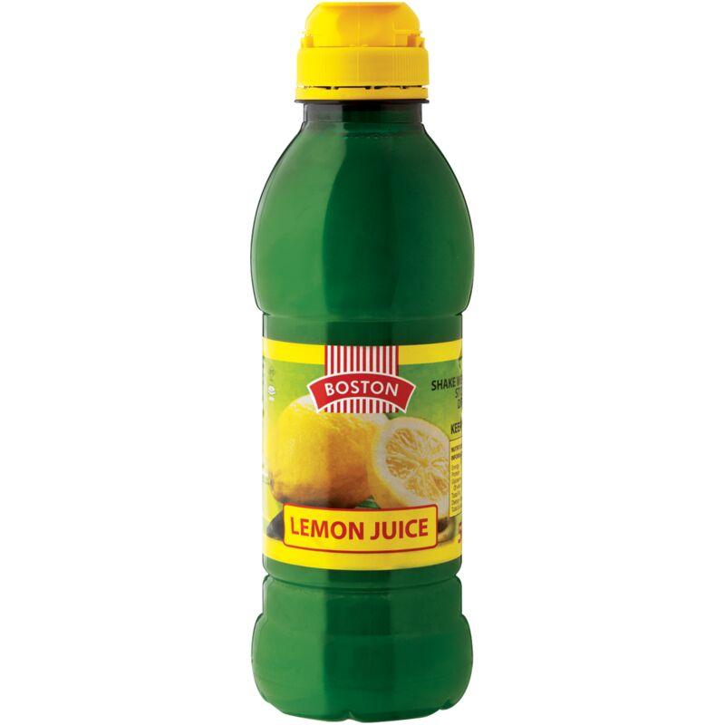 BOSTON LEMON JUICE – 500ML
