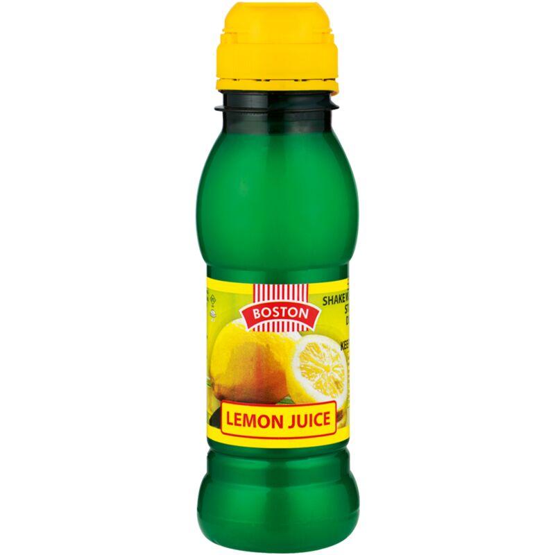 BOSTON LEMON JUICE – 250ML