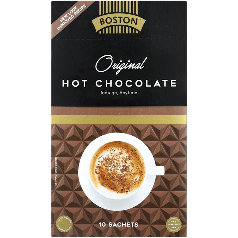 BOSTON HOT CHOCOLATE STICKS – 10S