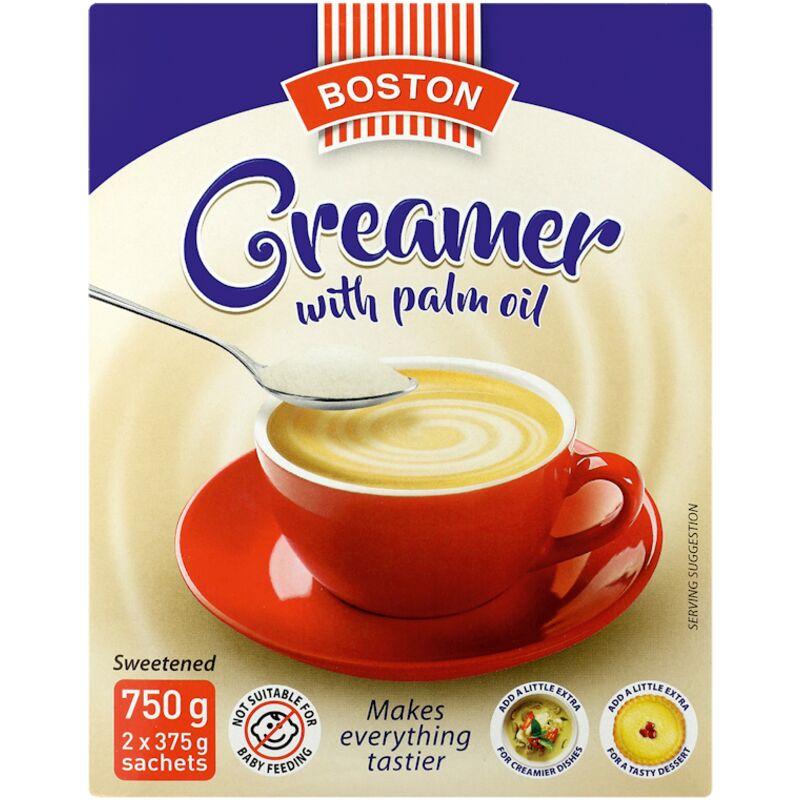 BOSTON COFFEE AND TEA CREAMER – 750G