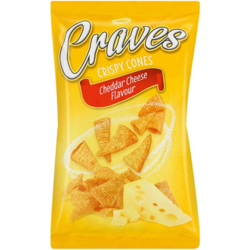 CRAVES CRISPY CHEESE CONE – 100G