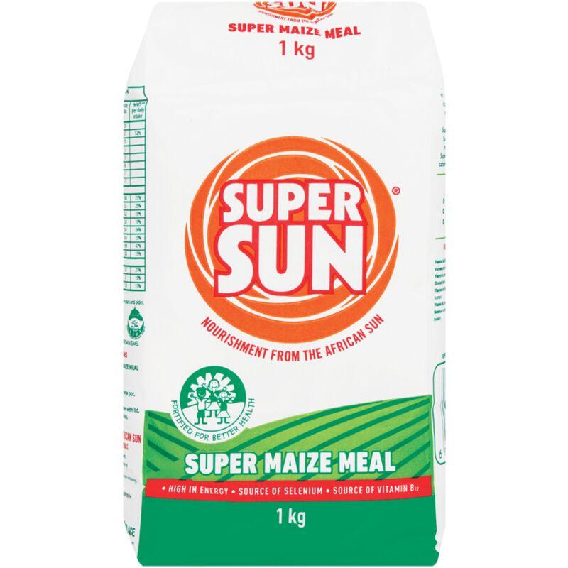 SUPER SUN SUPER MAIZE MEAL PA – 1KG