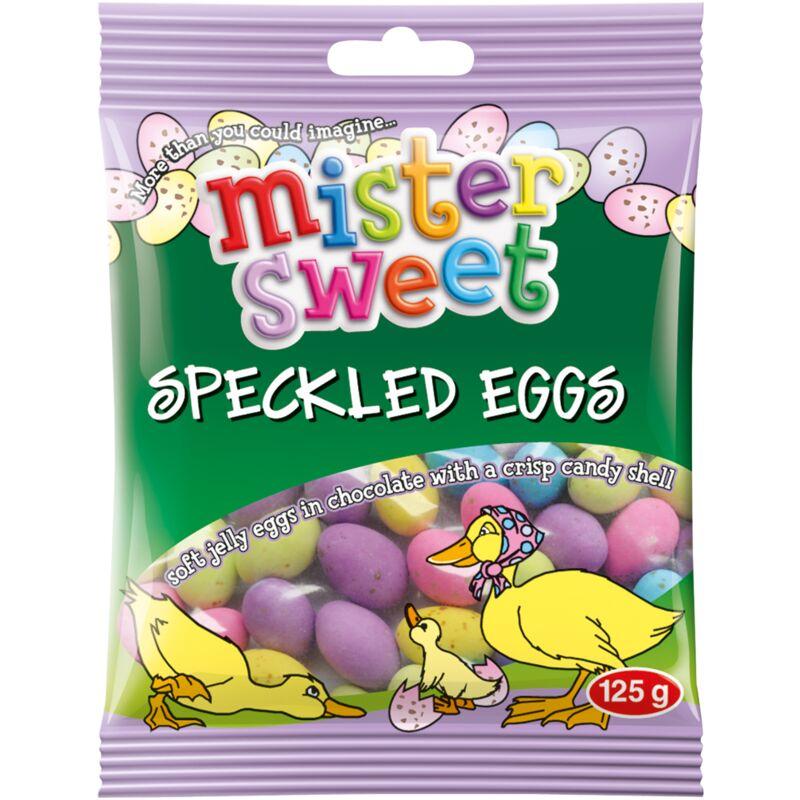 MISTER SWEET SPECKLED EGGS – 125G
