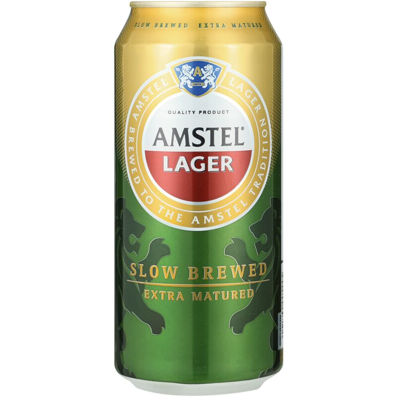 AMSTEL BEER CAN – 440ML