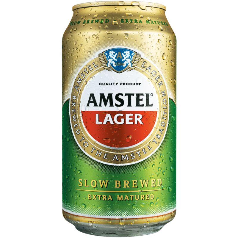AMSTEL BEER CAN – 330ML