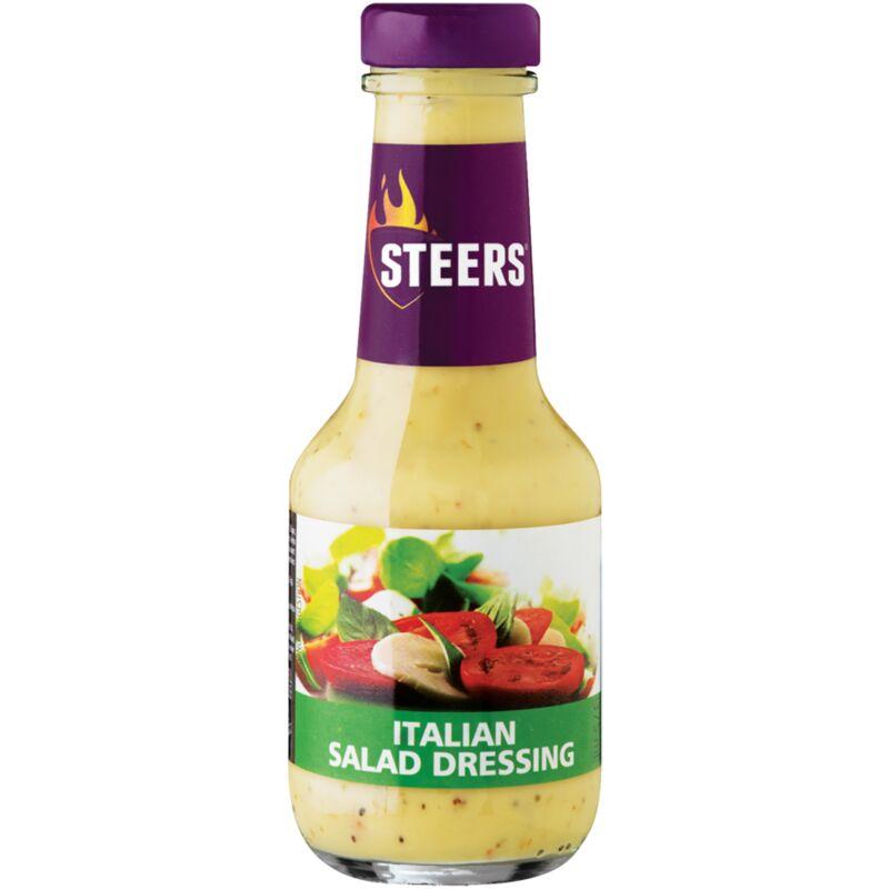 STEERS SALAD DRESSING ITALIAN – 375ML