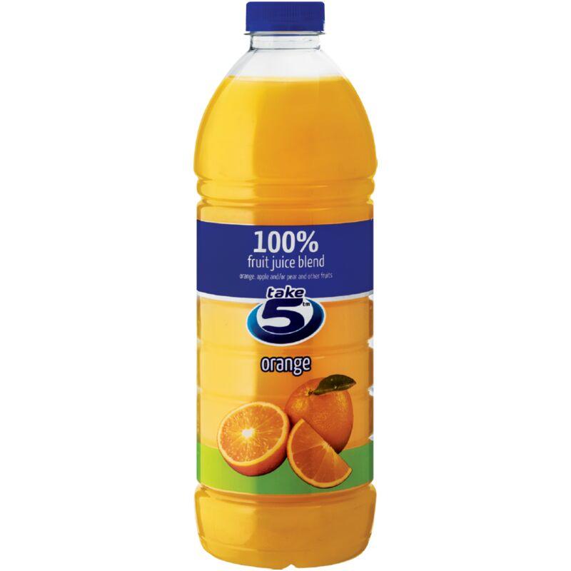 TAKE 5 100% ORANGE FRUIT JUICE BLEND – 1.5L