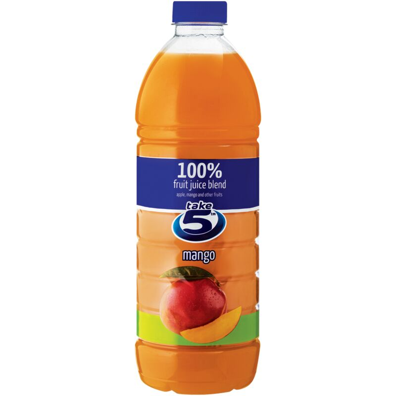 TAKE 5 100% MANGO FRUIT JUICE BLEND – 1.5L