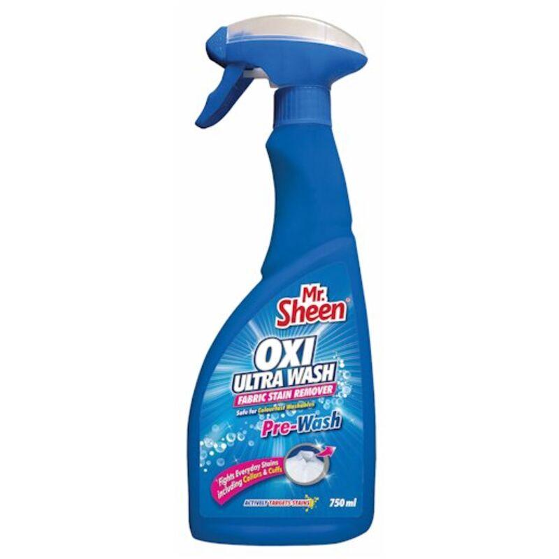 MR SHEEN OXI ULTRA WASH PREWASH – 750ML