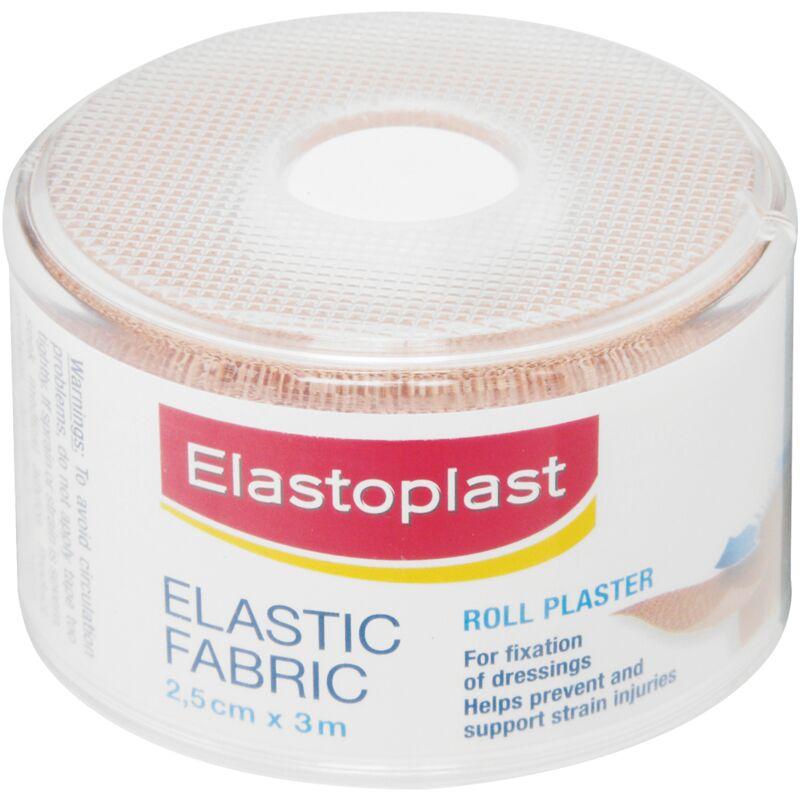 ELASTOPLAST FABRIC ROLL 2.5CM X 3M – 1S
