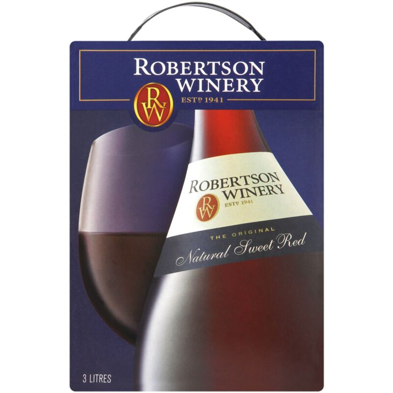 ROBERTSON NATURAL SWEET RED – 3L