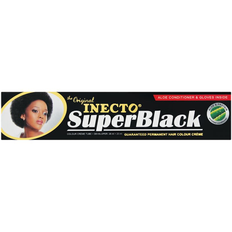 INECTO ORIGINALS H/COL SUPER BLACK – 28ML