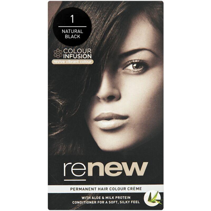 RENEW CREAM H/COL NAT BLACK – 50ML