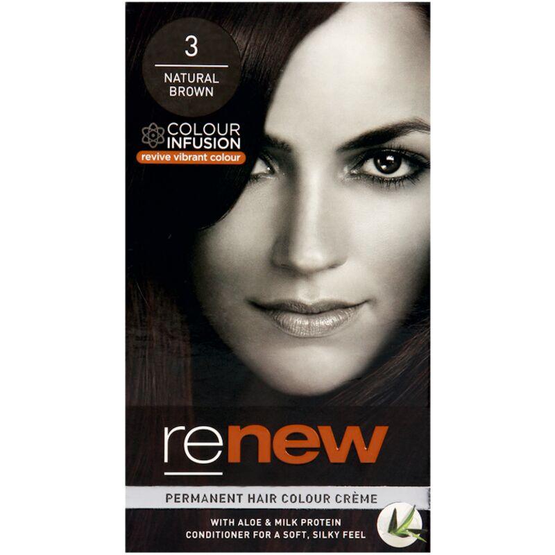 RENEW CREAM NATURAL BROWN – 50ML