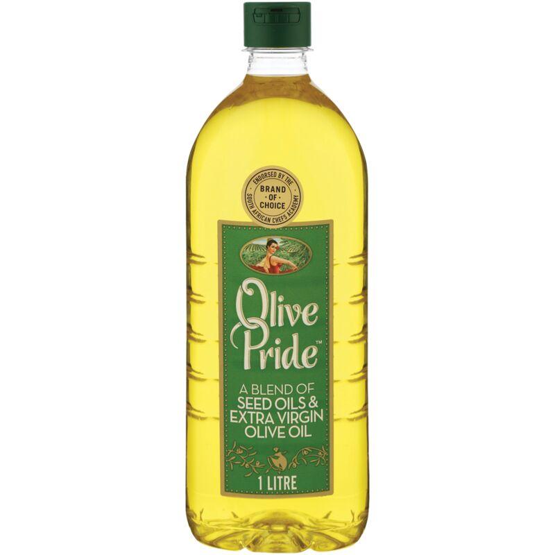 OLIVE PRIDE BLEND OF SEED OILS & EXTRA VIRGIN OLIVE OIL – 1L